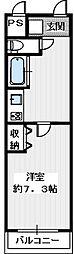 アイルーム狭山[1階]の間取り
