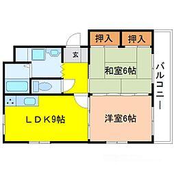 Grand maison清和[2階]の間取り