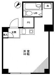 日興パレス中村橋[-1階]の間取り