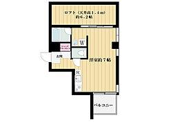 東京都世田谷区瀬田4丁目の賃貸マンションの間取り