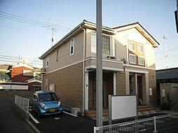 愛媛県松山市山越6丁目の賃貸アパートの外観