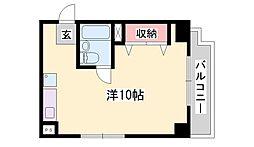 ジュネス姫路I[5階]の間取り