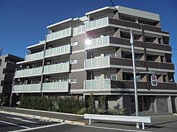東京都日野市豊田2丁目の賃貸マンションの外観