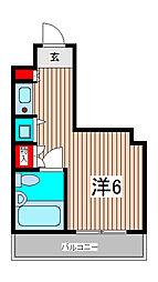 セントヒルズ武蔵浦和[4階]の間取り