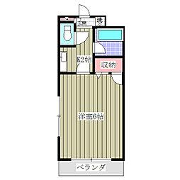 ジョーハイツ[305号室]の間取り