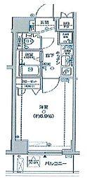 アデッソ野方[4階]の間取り
