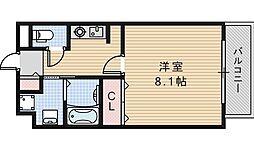 カンフォーラ松崎[507号室]の間取り