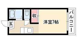 愛知県名古屋市南区鶴田2丁目の賃貸アパートの間取り