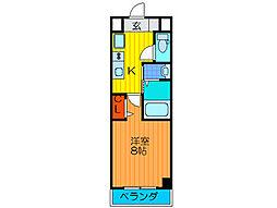 Palace Osaka[602号室号室]の間取り