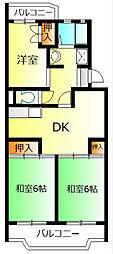 スペランザ大住[3階]の間取り