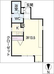 フリーライフ翔IV[2階]の間取り
