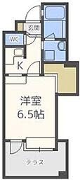 アイビースクエアマンション[1305D号室]の間取り