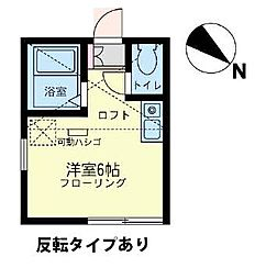 ユナイト 東寺尾カシージャスの杜[2階]の間取り