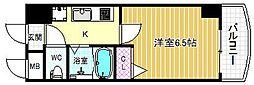 HOPECITY天神橋[5階]の間取り