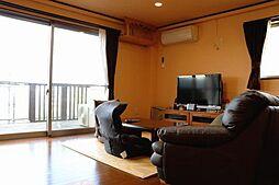 静岡県熱海市下多賀 2SLDKの居間