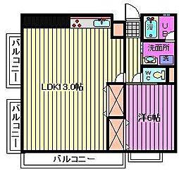 小池第2ビル[2階]の間取り