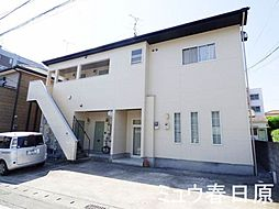 福岡県大野城市栄町2丁目の賃貸アパートの外観