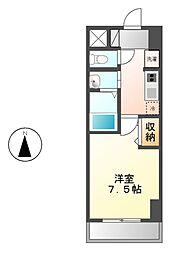 ファーニッシュ太平通[2階]の間取り