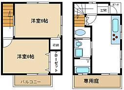 [テラスハウス] 福岡県糸島市波多江 の賃貸【/】の間取り