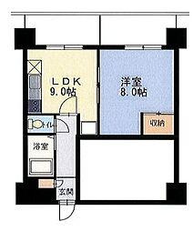 エンドレス519[7階]の間取り