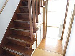 階段階段脇の通...