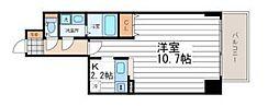 サムティ大阪WESTグランジール[402号室号室]の間取り