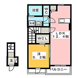 ラニュイエトワレ[2階]の間取り