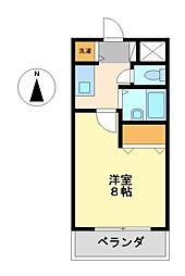 エルスタンザ鶴舞公園(旧ラッフル鶴舞公園)[2階]の間取り