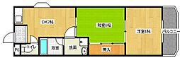 コンフォートキヨタキ[2階]の間取り