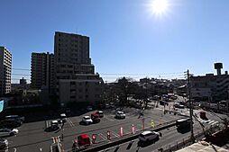 バルコニーからの眺め(南方向)