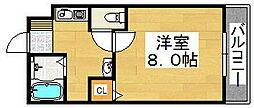 メゾンサイプレイスII[3階]の間取り