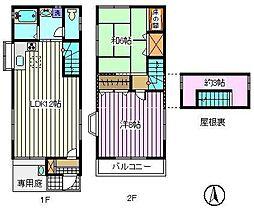 [一戸建] 埼玉県さいたま市南区鹿手袋1丁目 の賃貸【/】の間取り