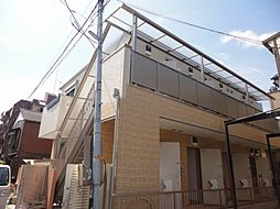 東京都足立区中川5丁目の賃貸アパートの間取り