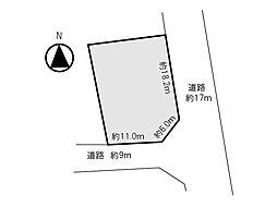 地積図:区画図