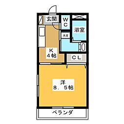仮)久保田町 Mマンション[1階]の間取り