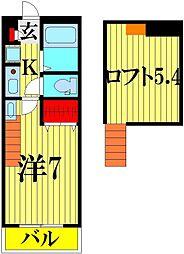 TGKビル[6階]の間取り