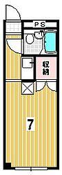 ハイツタケイチ[103号室]の間取り