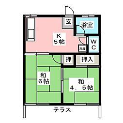 蟹江駅 3.4万円