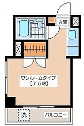 小野崎ビル[4階]の間取り