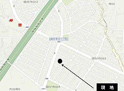現地案内図です