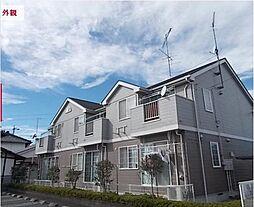 埼玉県東松山市大字石橋の賃貸アパートの外観