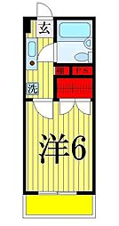メゾンノムラ[303号室]の間取り