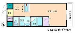 プランドールナガイ[3階]の間取り