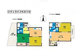 シティライフKOYO[1階]の間取り