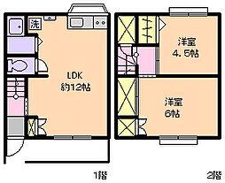 [テラスハウス] 千葉県市川市相之川1丁目 の賃貸【/】の間取り
