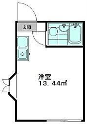 NT志村坂上コーポ[101号室]の間取り