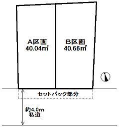 区画図:B区画