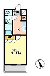 フィオ—レ[106号室号室]の間取り