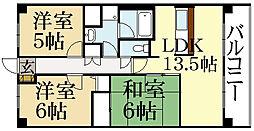 COZY KITAYAMA[2階]の間取り