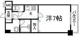 ライオンズマンション京都河原町第3[6階]の間取り